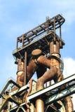 Abandoned steelmaking equipments Stock Images