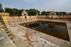 Abandoned stepwell. Fatehpur. Rajasthan. India Stock Image
