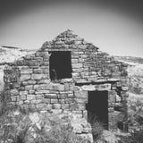Abandoned stone building Stock Photos
