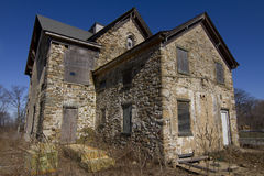 Abandoned stone house Royalty Free Stock Photos