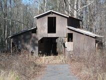 Abandoned Storage Barn Royalty Free Stock Photography
