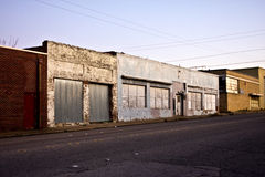 Abandoned Storefront Royalty Free Stock Image