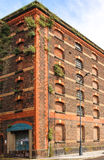 Abandoned storehouse. In Liverpool docks Royalty Free Stock Photo