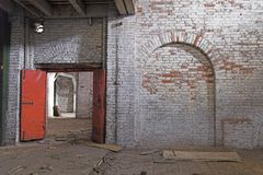 Abandoned Storehouse Building Royalty Free Stock Photography