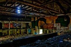 Abandoned. A strange but beautiful abandoned place Stock Photos