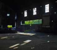 Abandoned sugar mill Royalty Free Stock Images