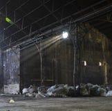 Abandoned sugar mill Stock Photo