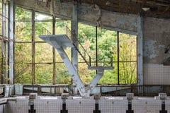 Abandoned swimming hall Stock Image