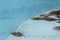 Abandoned Swimming Pool Stock Image