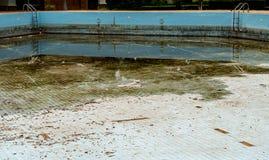 Abandoned swimming pool Royalty Free Stock Photo