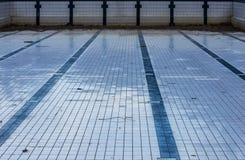 Abandoned swimming pool Stock Photos