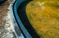 Abandoned swimming pool Royalty Free Stock Photography