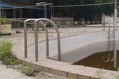 Abandoned swimming pool Stock Photo