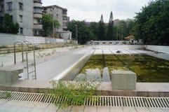 Abandoned swimming pool Royalty Free Stock Photos