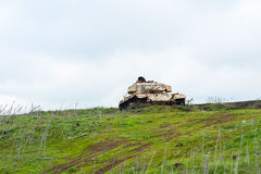Abandoned tank Stock Images