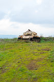 Abandoned tank Royalty Free Stock Photos