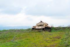 Abandoned tank Stock Image