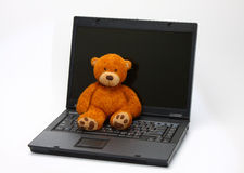 Abandoned teddy bear Royalty Free Stock Photography
