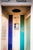 Abandoned Telecommunications Building Royalty Free Stock Photo