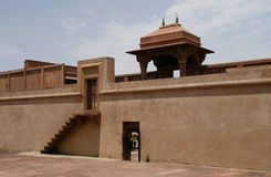 Abandoned temple in Fatehpur Sikri, India Royalty Free Stock Photography