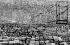 Abandoned texturerade väggen Royaltyfria Foton
