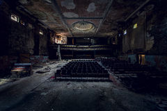 Abandoned Theater - Buffalo, New York Stock Image