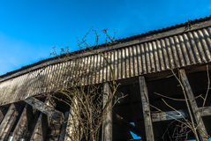 Abandoned Timber  Structure Royalty Free Stock Photo