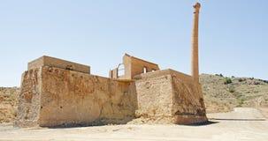 Abandoned Tin Mine, Spain Stock Photos