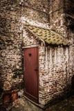 Abandoned Toilet (dark) Royalty Free Stock Photography