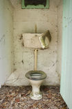 Abandoned toilet Stock Photography