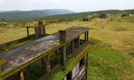 Abandoned town Bokor Hill. Kampot. Cambodia. Stock Photography