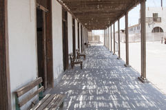 Abandoned town - Humberstone, Chile Stock Photos