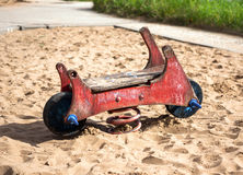 Abandoned toy Royalty Free Stock Images