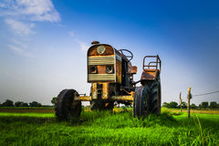 Abandoned Tracktor Royalty Free Stock Images