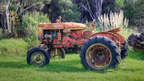 Abandoned Tractor Stock Photography