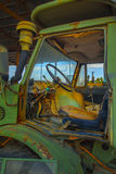 Abandoned Tractor Cab Royalty Free Stock Images