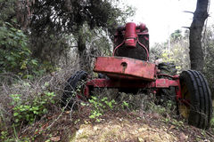 Abandoned tractor Royalty Free Stock Images