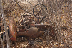 Abandoned tractor Royalty Free Stock Photos
