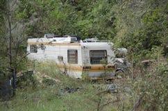 Abandoned trailer Royalty Free Stock Image