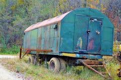 Abandoned trailer Stock Image