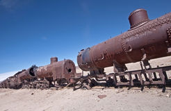 Abandoned Train Stock Image