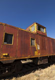 Abandoned Train Exterior Royalty Free Stock Photography