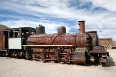 Abandoned train, Pulacayo, Bolivia Stock Photos