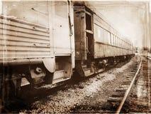 Abandoned Train. On abandoned tracks royalty free stock photography