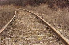 Abandoned Train Tracks Stock Photos