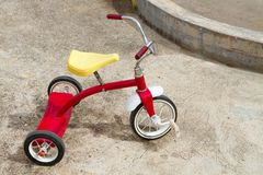 Abandoned Tricycle Royalty Free Stock Photography