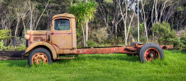 Abandoned Truck Stock Photography