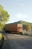Abandoned truck highway bequia Stock Images