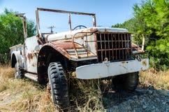 Abandoned truck Stock Image