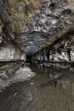 Abandoned Tunnel. An abandoned tunnel for the Eastern Kentucky Railroad Royalty Free Stock Photos